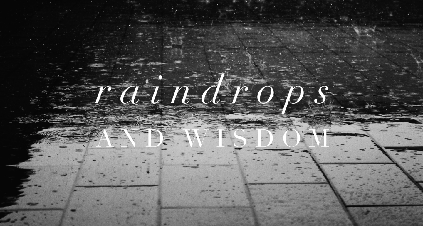 Raindrops and Wisdom