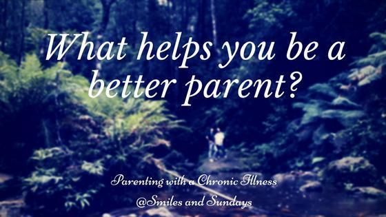 Parening with a chronic illness