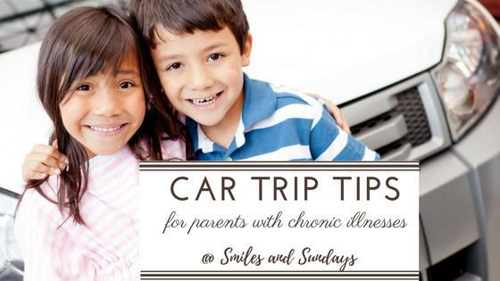 Car Trip Tips with Kids: Parenting with a Chronic Illness