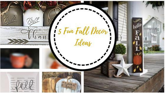 Easy Fall Home Decor Projects