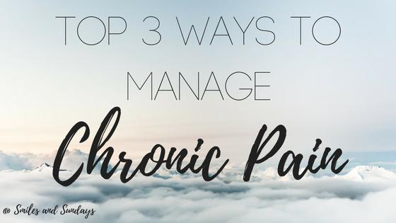 Top 3 Ways to Manage Chronic Pain
