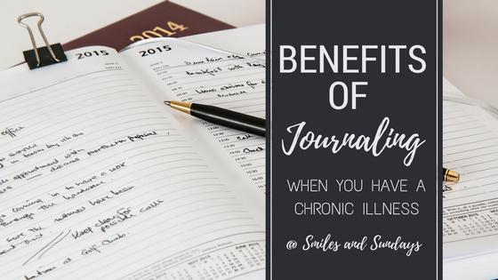 Benefits of Journaling When You Have a Chronic Illness