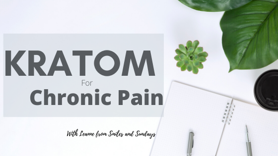 Kratom for Chronic Pain Title Image